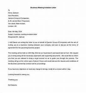meeting invite email template - 50 business letter templates pdf doc free premium