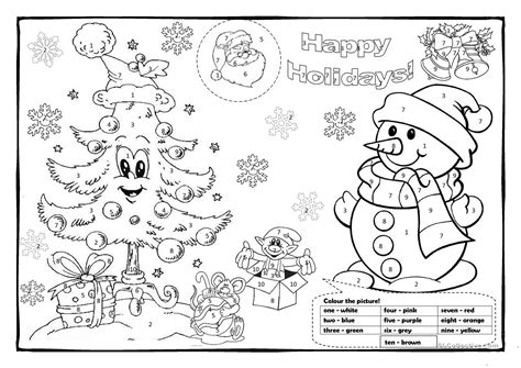 Coloring Worksheets colouring 1 worksheet free esl printable