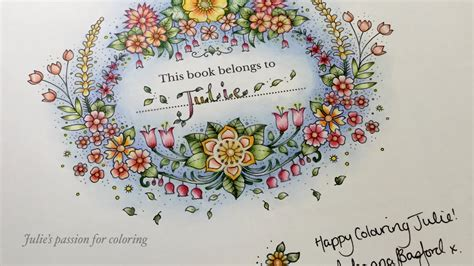 world  flowers  johanna basford color