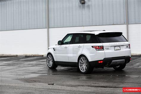 supercharged range rover sport  vossen wheels