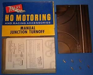 Atlas Ho Scale Slot Car Track Manual Turnoff 1246 Nmib