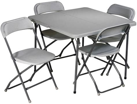 office table and chairs office star 5 piece folding table and chairs set sd