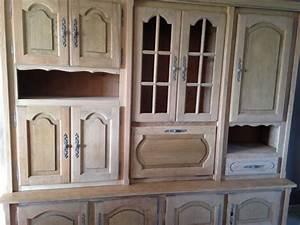 Relooker Meuble Rustique : impressionnant relooker un meuble en chene 8 d233capage par a233rogommage dun living rustique ~ Preciouscoupons.com Idées de Décoration