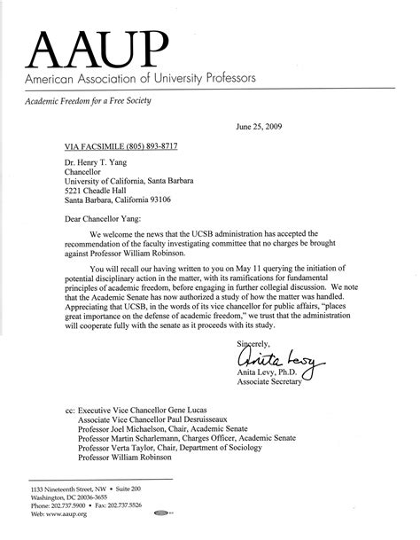 letters  scholarly organizations committee  defend