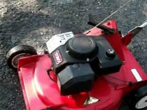 Vintage Toro Lawn Mower Model 20581