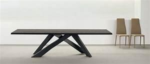 Table Bois Metal Avec Rallonge : table a manger design table sejour design maisonjoffrois ~ Melissatoandfro.com Idées de Décoration
