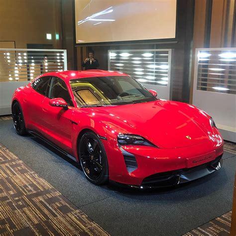 CARMINE RED Taycan Club   Page 2   Porsche Taycan Forum ...