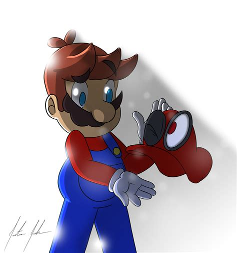 Super Mario Odyssey Fan Art By Justin3613 On Deviantart