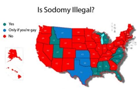 states  enforcing unconstitutional sodomy laws