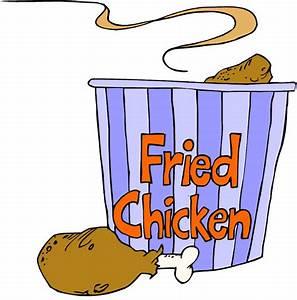 Cartoon Fried Chicken