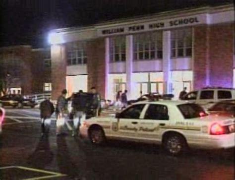 student shot trooper injured  school brawl nbc