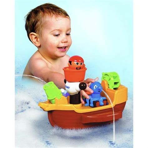 Aquafun Boats Net by Tomy Aquafun Pirate Bath Ship Boat Baby Toddler