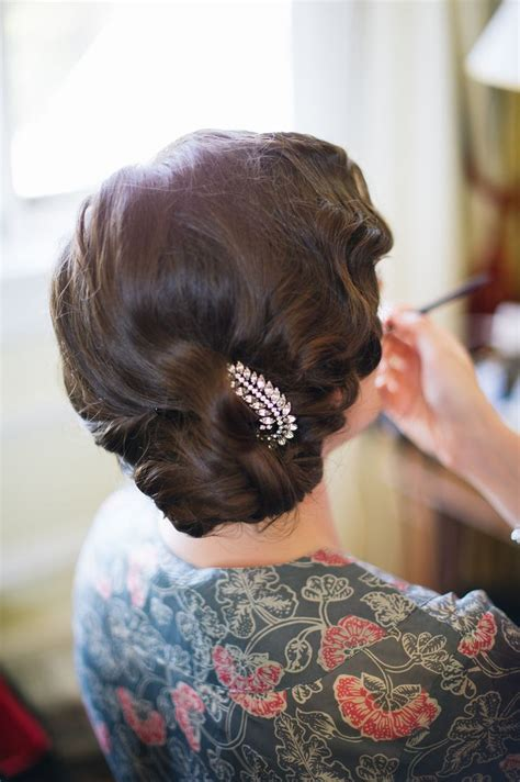 Finger Wave Updo Hairstyles by Best 20 Finger Waves Tutorial Ideas On In