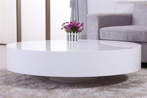 armoire basse de bureau table basse ronde laquée belius design