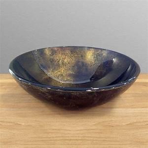 Vasque En Verre Salle De Bain : vasque en verre terra 420 mm ~ Edinachiropracticcenter.com Idées de Décoration