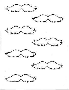lorax mustache template lorax mustache by c croisant s firsties teachers pay teachers