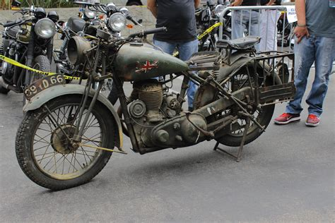 World War 2 Royal Enfield Motorcycle By Alucard214 On