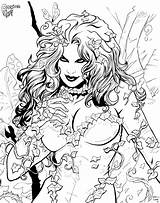 Ivy Poison Coloring Pages Chibi Print Bust Deviantart Sketch Inked Cadre Stats Downloads Favourites Draw Template sketch template