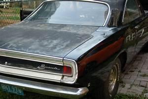 1968 Black Plymouth Barracuda 68 U0026 39 Cuda 340 Formula S Notchback Mostly Original