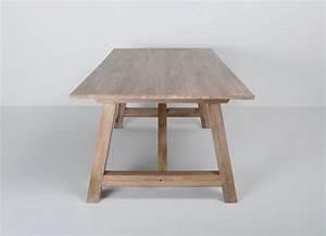Table A Manger Rectangulaire : table a manger rectangulaire bois ~ Teatrodelosmanantiales.com Idées de Décoration
