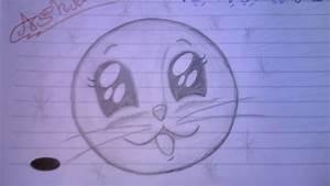 Cute Cat Face - Draw by Ashjans on DeviantArt