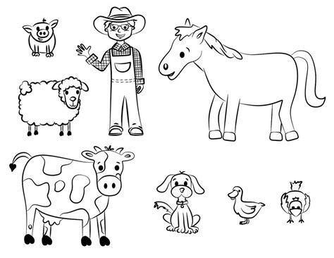 farm animals worksheets kindergarten gallery worksheet