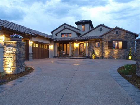 Tuscan and Mission Style Custom Homes