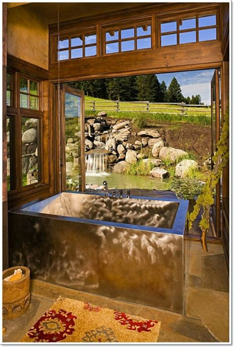 Pics Of Rustic Bathrooms by 17 Rustic Bathroom Ideas