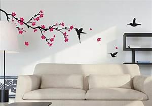 Stickers Arbre Noir : 20 stickers muraux art d co qui illumineront vos pi ces ~ Teatrodelosmanantiales.com Idées de Décoration