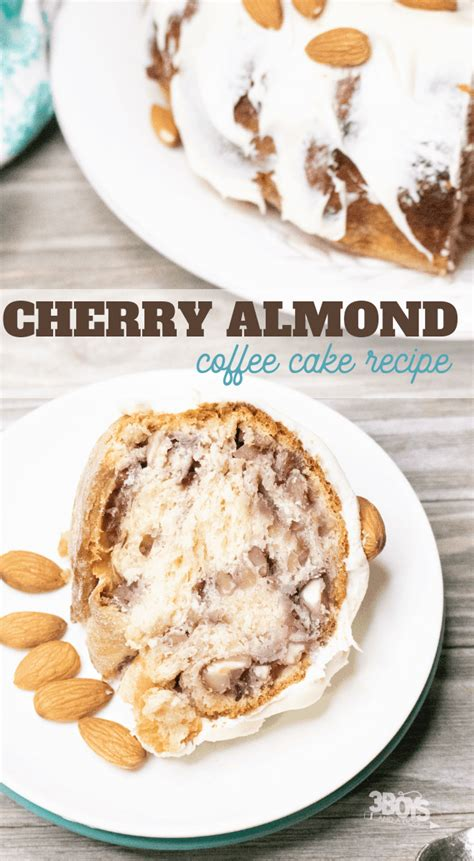 Spread filling down center third of dough to within 1/2 in of edges. Cherry Almond Coffee Cake Recipe - 3 Boys and a Dog