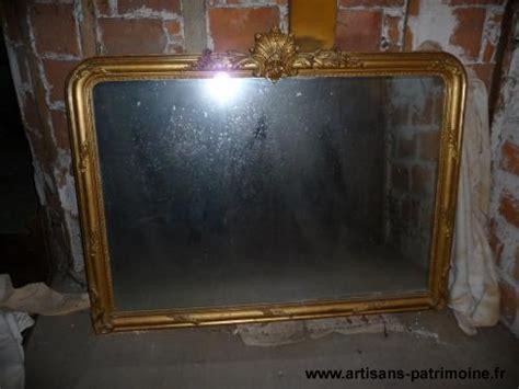 grand miroir ancien dor 233 artisans du patrimoine