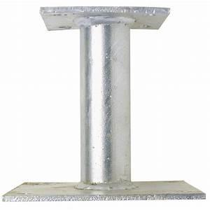 Support De Poteau : support de poteau in gal alberts hauteur 100 mm de ancre ~ Melissatoandfro.com Idées de Décoration