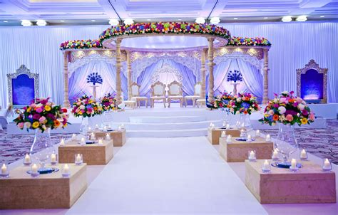 No words for this breathtaking wedding mandap with a