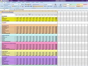 Budget Rechnung : pers nliches budget 3 ~ Themetempest.com Abrechnung