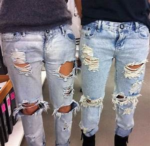 DIY Ripped Jeans How to make Ripped Jeans Tutorial and Ideas - Diy Craft Ideas u0026 Gardening
