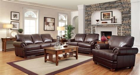 Traditional Loveseat by Traditional Brown Bonded Leather Sofa Loveseat Living Room