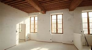 isolation laine de bois maison travaux With isolation sonore mur interieur