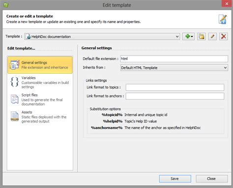 template editor new template editor for html based documentation in helpndoc 4 7 helpndoc