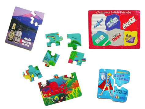 magnetic jigsaw magnetic advertising jigsaw puzzles for fu rong magnets