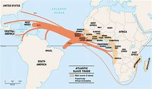 The Trans Atlantic Slave Trade: Only 4.4% of Slaves were ...