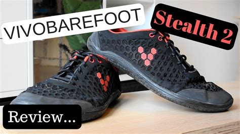 vivobarefoot stealth  review youtube