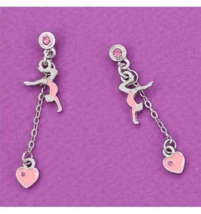 3847 gymnastics earrings