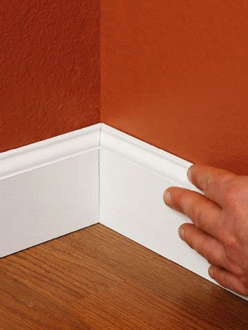 install floor molding installing baseboards how to install baseboard molding carpentry woodworking finish trim