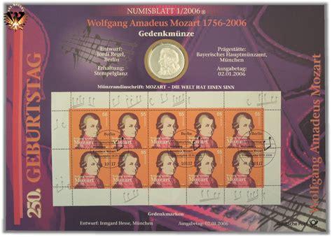 10 €, Brd, 2006, D, Wolfgang Amadeus Mozart 17561794