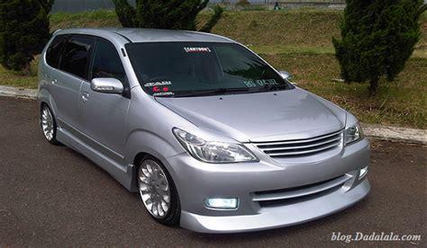 Toyota Avanza Modification by Avanza Car Modification Joss Make You Drool Modification