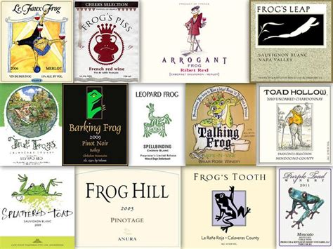 frog names wine with frog toad in the name wine labels pinterest names wine and the o jays