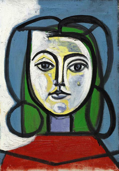Pablo Picasso Tte De Femme Portrait De Francoise
