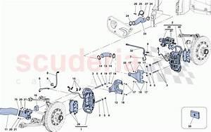 Ferrari Laferrari Aperta Front And Rear Brake Calipers