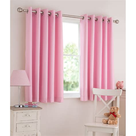 Kmart Pink Sheer Curtains by Silentnight Light Reducing Eyelet Curtains Curtains