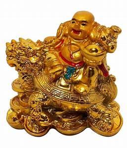 Vastu Art Yellow Resin Vastu / Feng Shui / Small Laughing ...